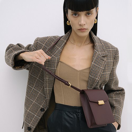 Grace Bag Petit Bordeaux  [new10%] (정상가 178000원)