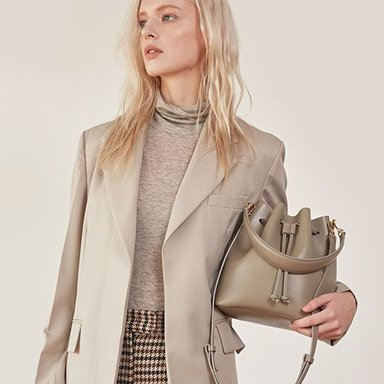 Bucket Bag Medium Stone Beige (Taupe)품절