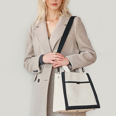 Multi Canvas Bag Medium Ivory 입고완료