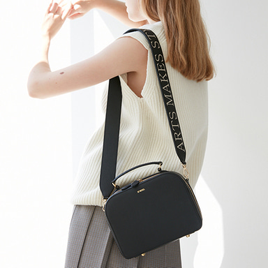 Box Bag Medium Black  [Best Sellers 10%] (정상가 258000원)