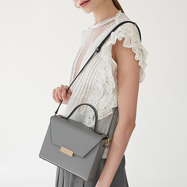 Letter Bag Grey  [Steady Seller 10%] (정상가 269000원)