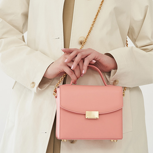 Letter Bag Mini Coral Pink  [Steady Seller 15%] (정상가 249000원)