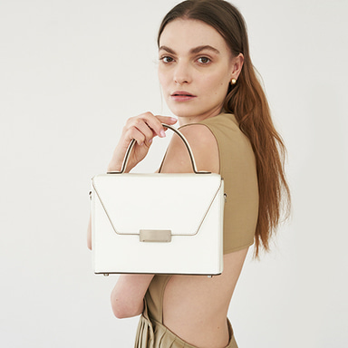 Letter Bag White  [Steady Seller 10%] (정상가 269000원)
