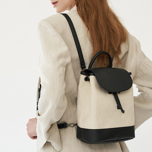 Flap Backpack Ivory  품절