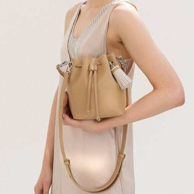 Bucket Bag Mini Beige  품절
