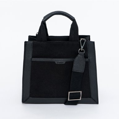Multi Canvas Bag Small Black  [Special 10%] (정상가 99000원)