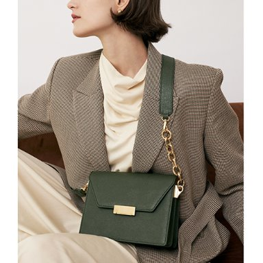 Clever Bag Medium Olive Green  [Restock 15%] (정상가 318000원)