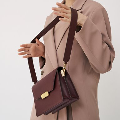 Clever Bag Medium Bordeaux  [Preorder15%] 12월6일발송 (정상가 318000원)
