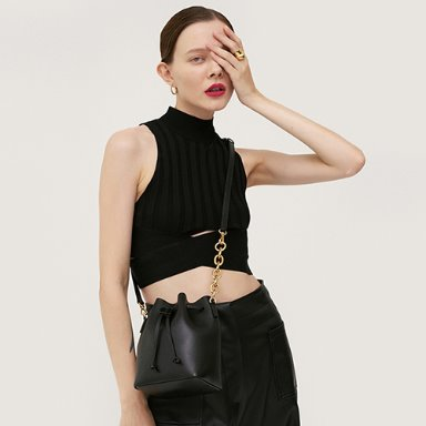 Bucket Bag Mini Black [Restock 10%] 재입고완료 (정상가 149000원)