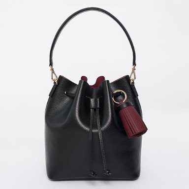 Bucket Bag Medium Black[Restock 15%] (정상가 169000원)