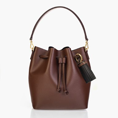Bucket Bag Medium Cocoa Brown [New 15%] (정상가 169000원)