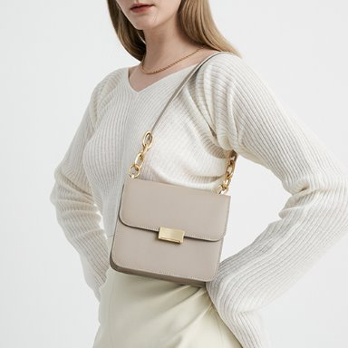Grace Bag Mini Rose Beige  [New 10%] 입고완료 (정상가 248000원)