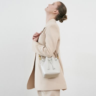 Bucket Bag Mini Cream [Restock 10%] 재입고완료 (정상가 149000원)