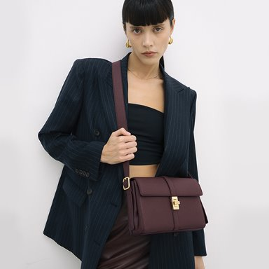 Lady Bag Medium Bordeaux [Best 15%] (정상가 269000원)