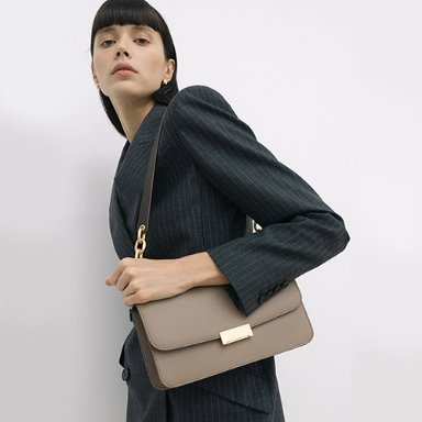 Grace Bag Wide Mocha Beige  [new 15%] (정상가 288000원)